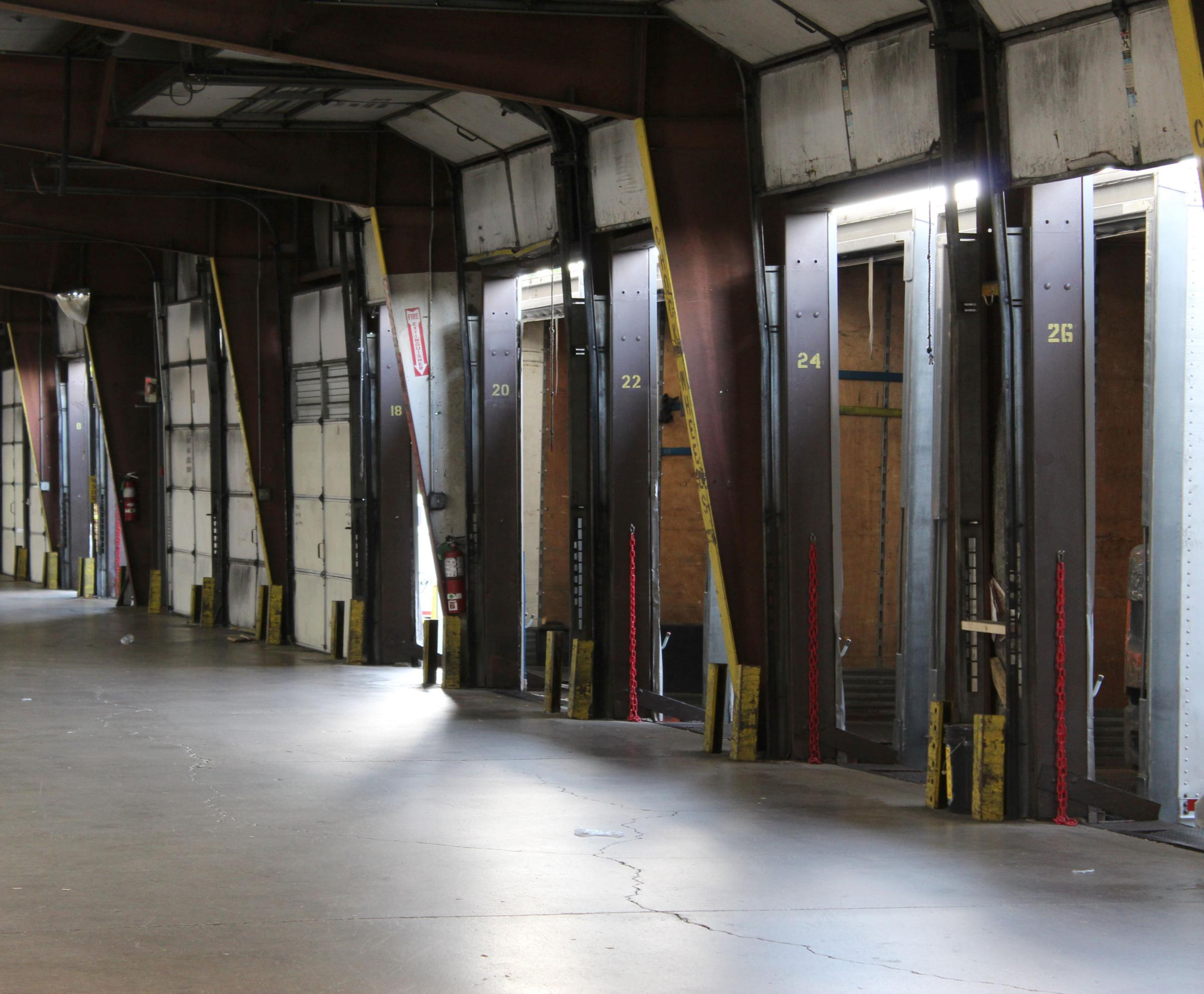 Free up space in your building with a consolidation and dock sweep of your freight