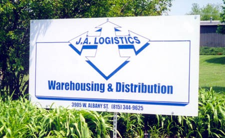 JA Logistics Division Began in 2001