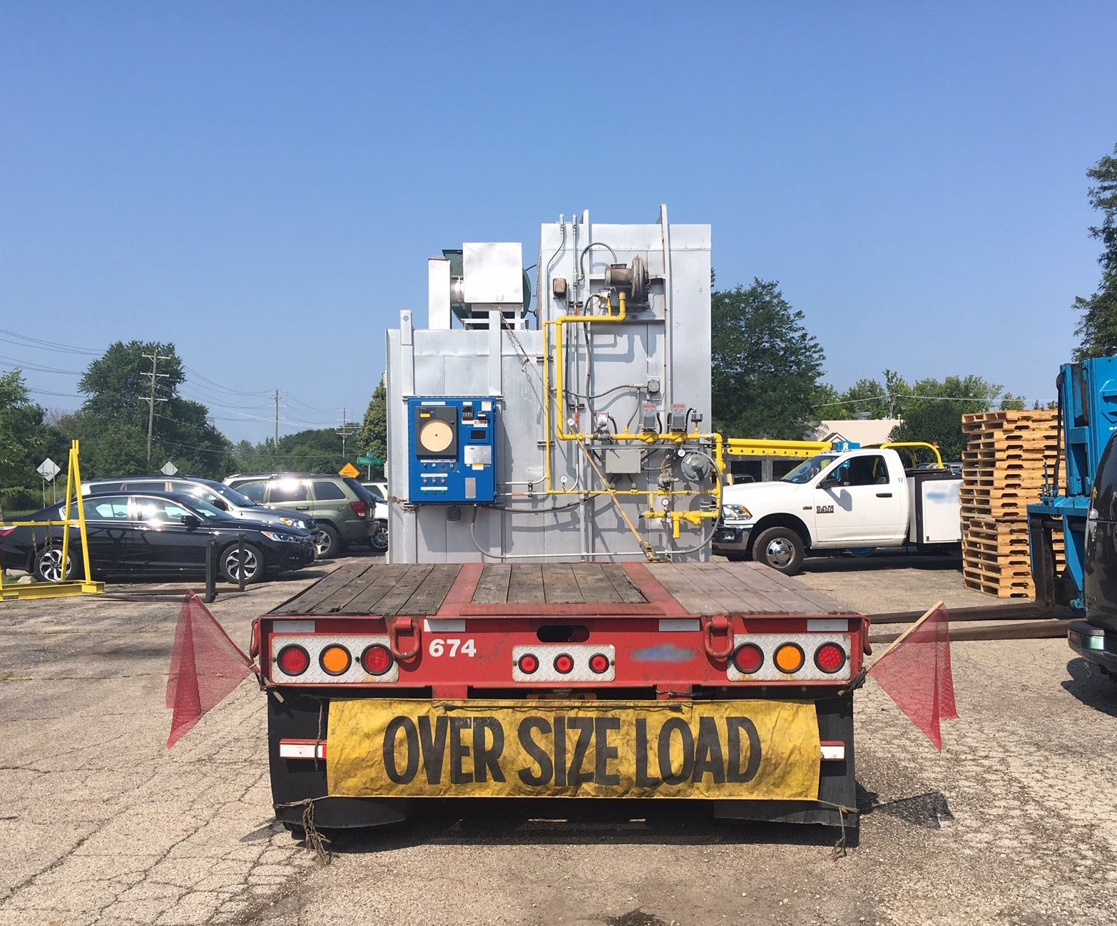 How to ship oversize loads with permits in the domestic USA