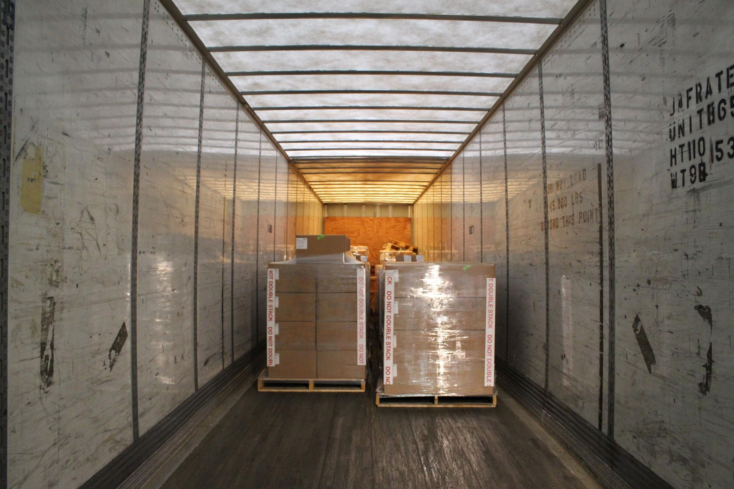 Volume truckload rates for Indiana