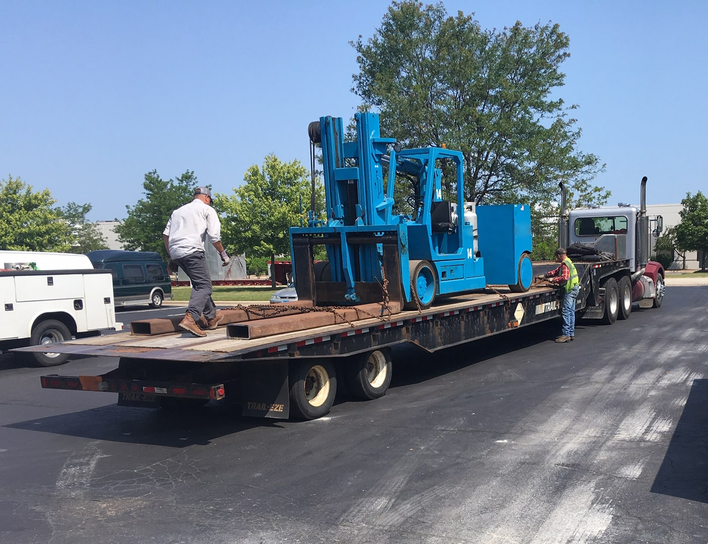 How to move oversize equipment safely with permits