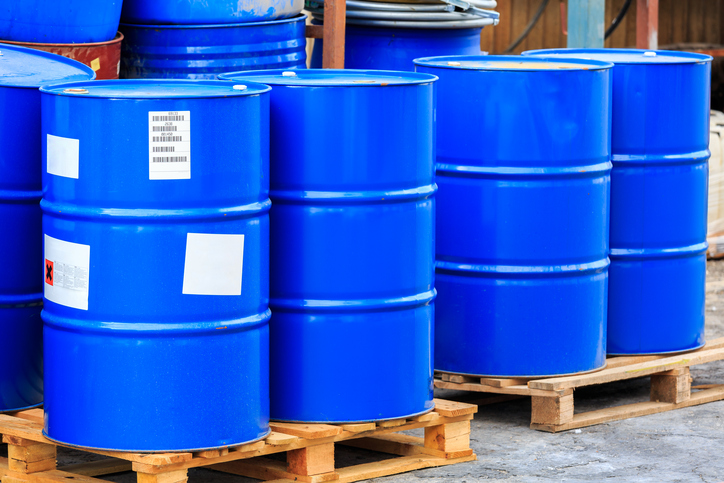 Hazmat Warehousing Barrells