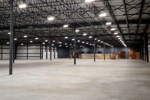 Distribution center and warehouse expanded in 2019