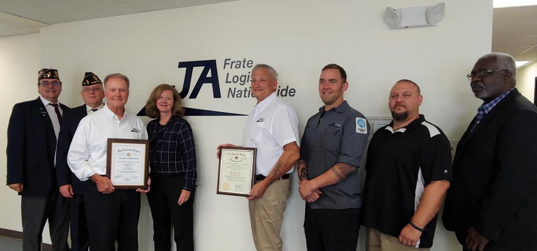 American Legion JA Frate Award