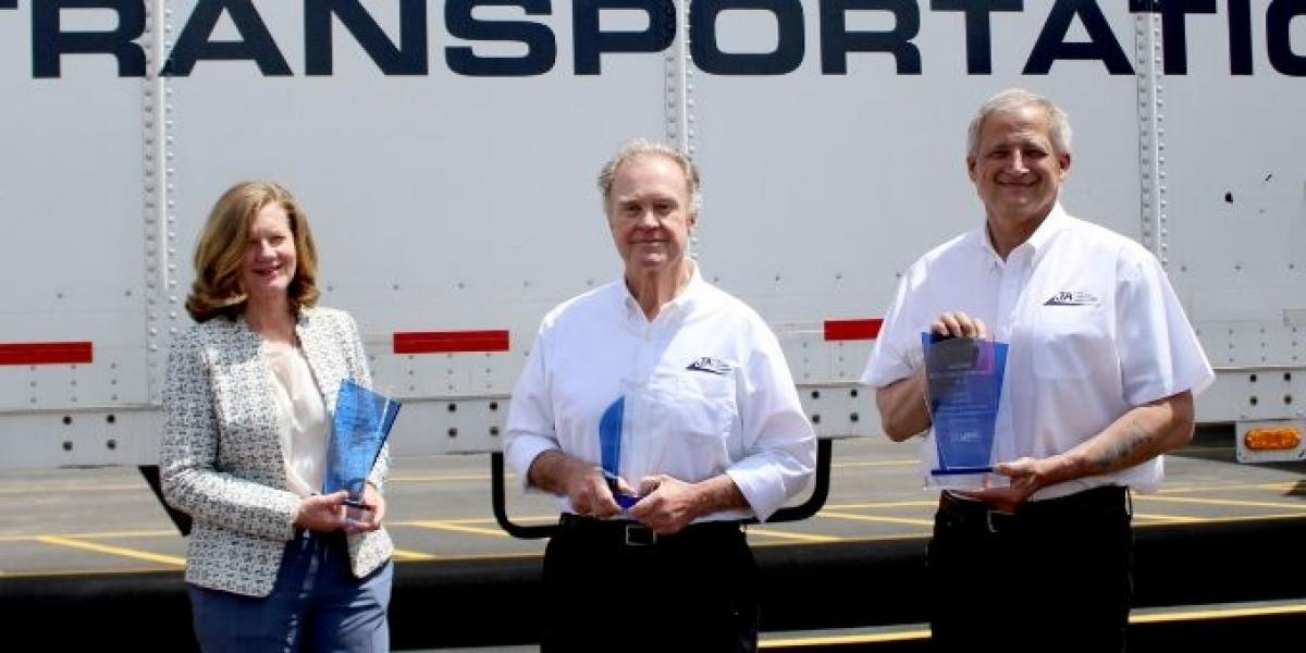 Transportation carrier of the year award given to JA Frate