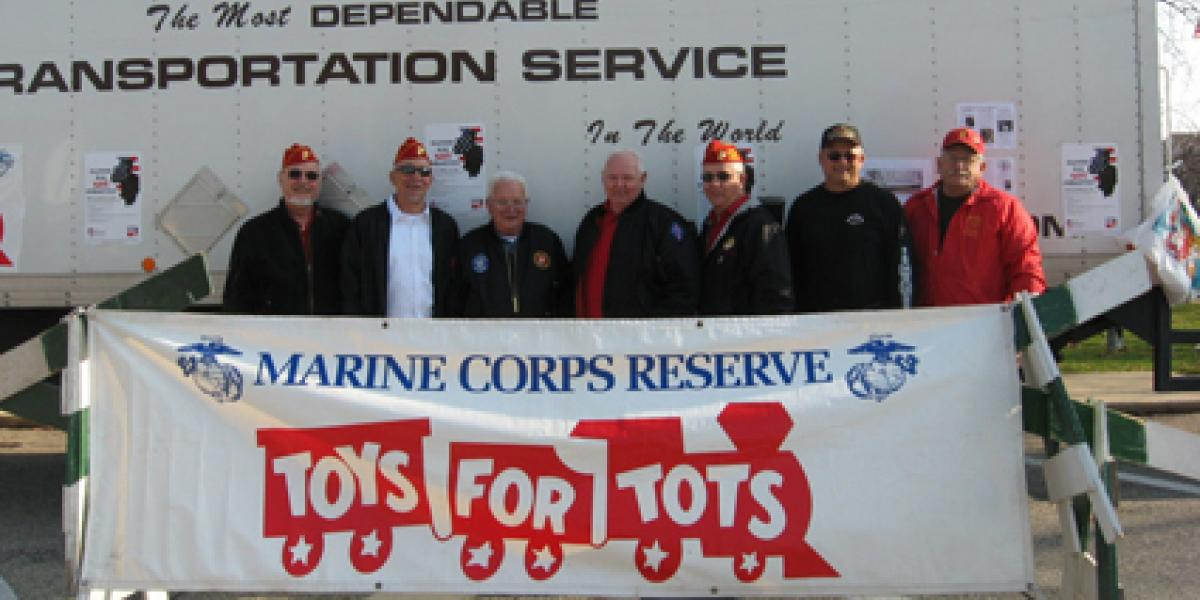 JA Frate Supports Toys for Tots and USMC