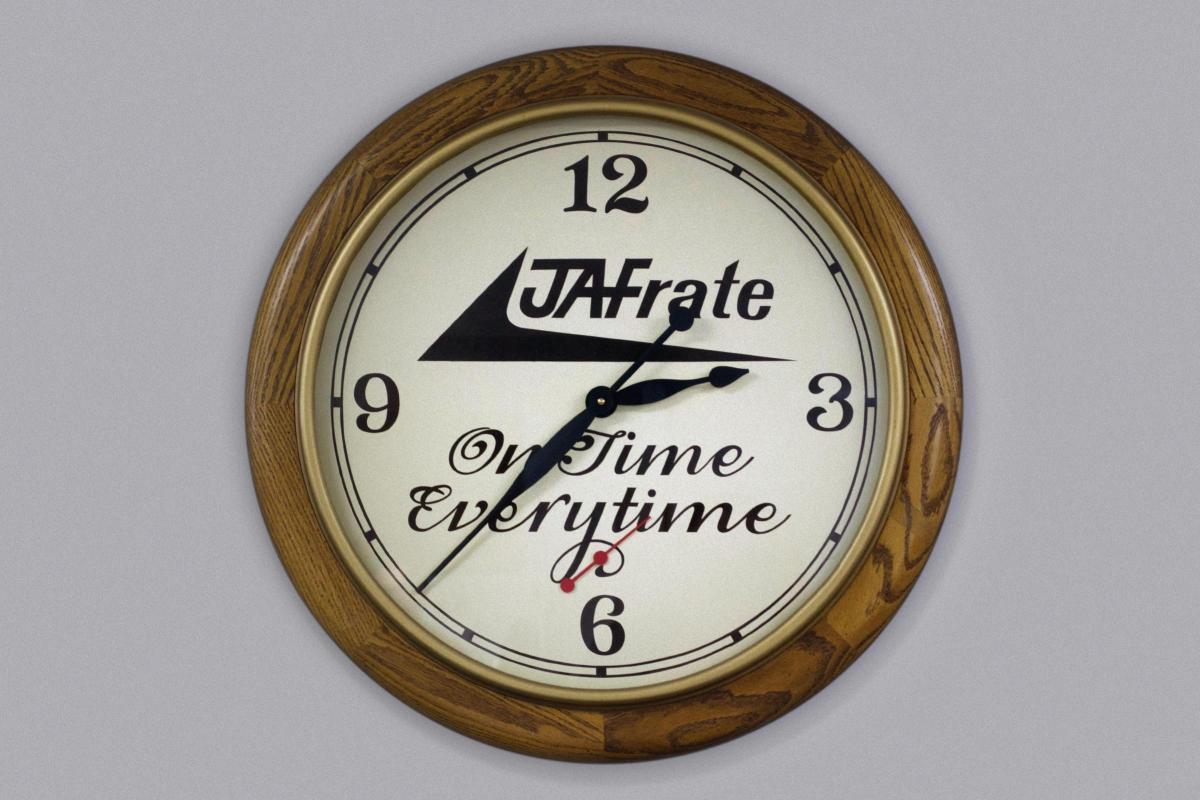 JA Frate On Time